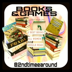 BOOKS & GAMES